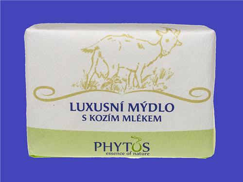 Luxusní mýdlo s kozím mlékem 200g