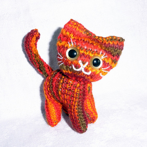 Podzimní kočička