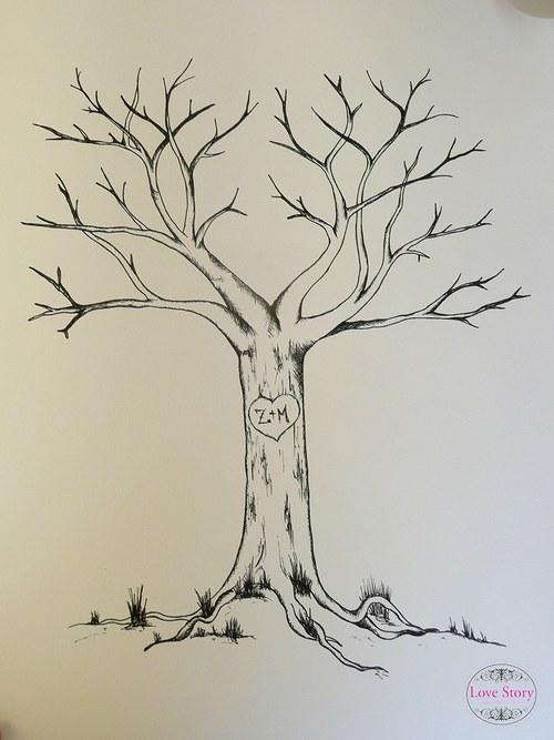 Svatební strom na přání