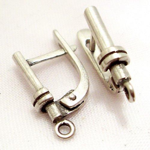 Stříbrné náušnice, Ag 925/1000 (cena za par)