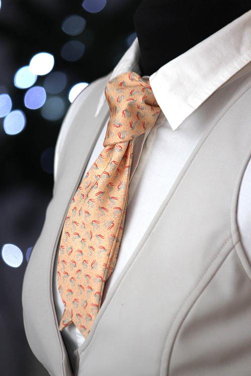 Dámský Šátek přírodní hedvábí Ladies scarf W005