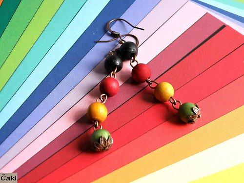 Černá, zelená, žlutá,červená........