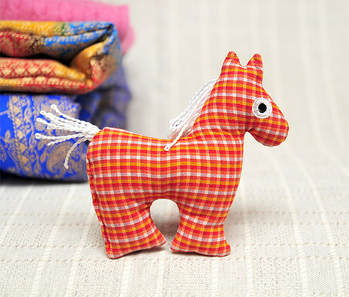 Koník pepito - textilní  hračka