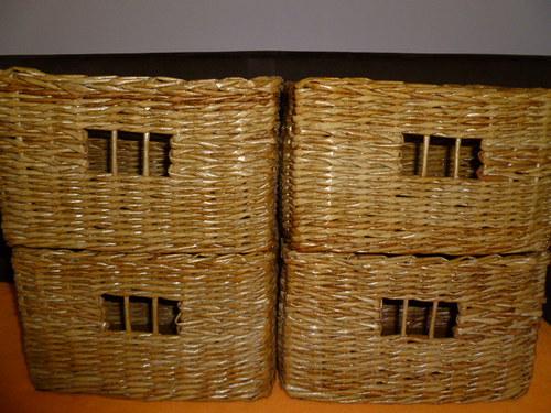 Košíky - úložný set 4 ks