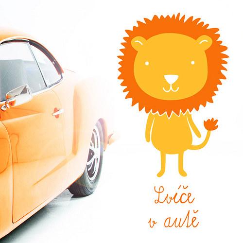 Lvíče v autě