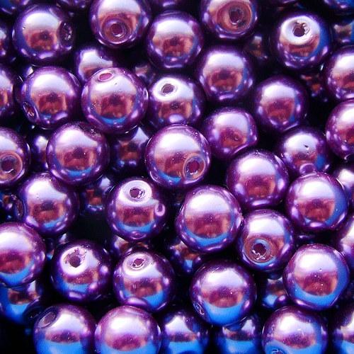 lila voskovky vel.8mm - 20 kusů