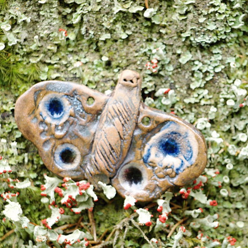 Keramický motýl - komponent
