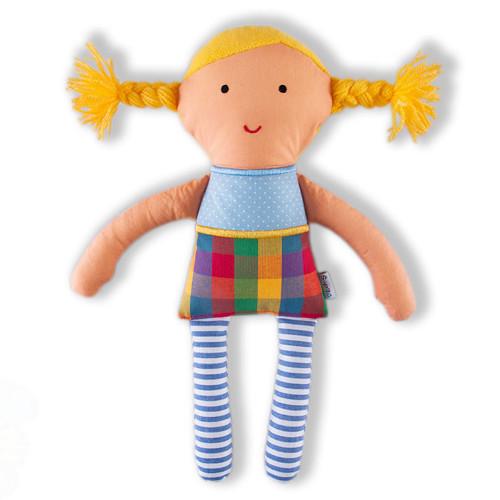 Anežka 05- textilní panenka