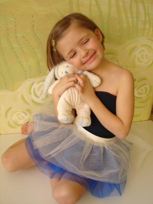 Sukýnka - Modré z nebe (3-6 let)