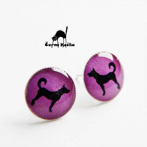 Psi ve fialovém pelíšku
