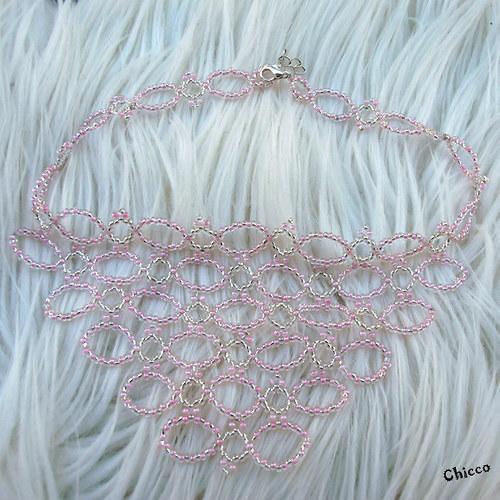 Pink lady (náhrdelník a náramek v krabičce)