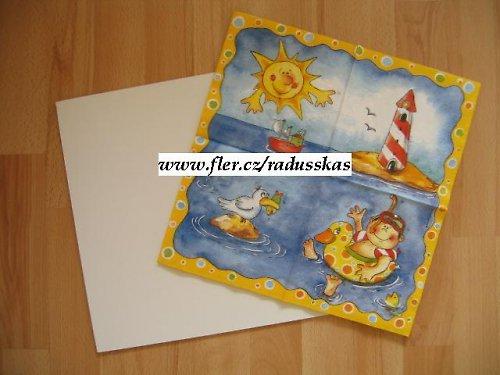 10 ks - sololaková destička bílá 32x32 cm