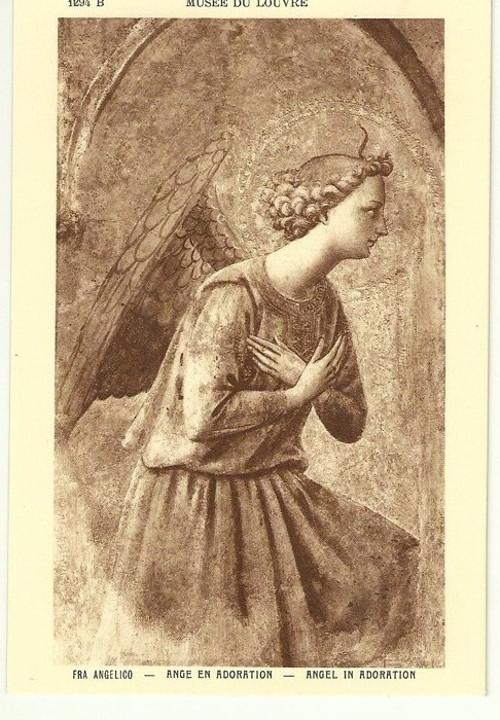Umělecká pohlednice Fra Angelico