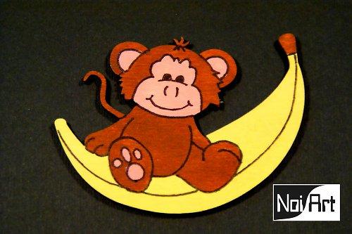Opica na banáne