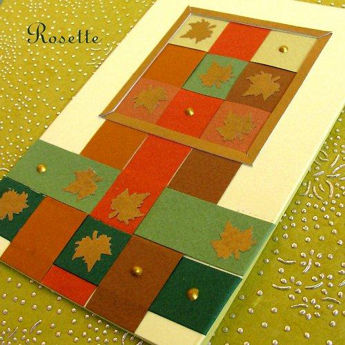 Podzimní křížovka -  přání