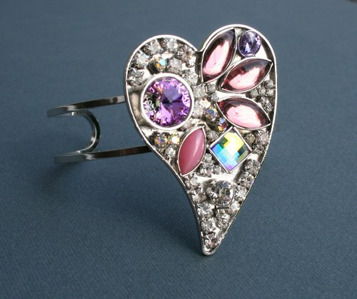 LOVE - Náramek se SWAROVSKI Crystals
