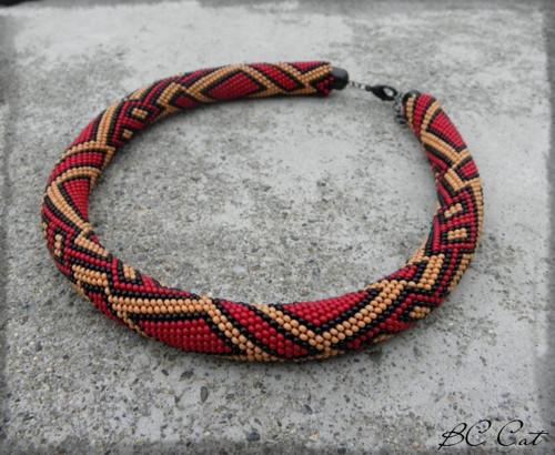 Geometric - náhrdelník