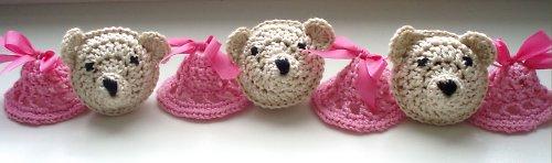 Medvídci na postýlku - pro holčičku