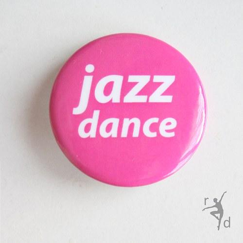 Placka JAZZ DANCE růžová