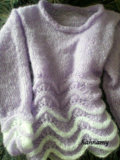 Mohérový svetřík