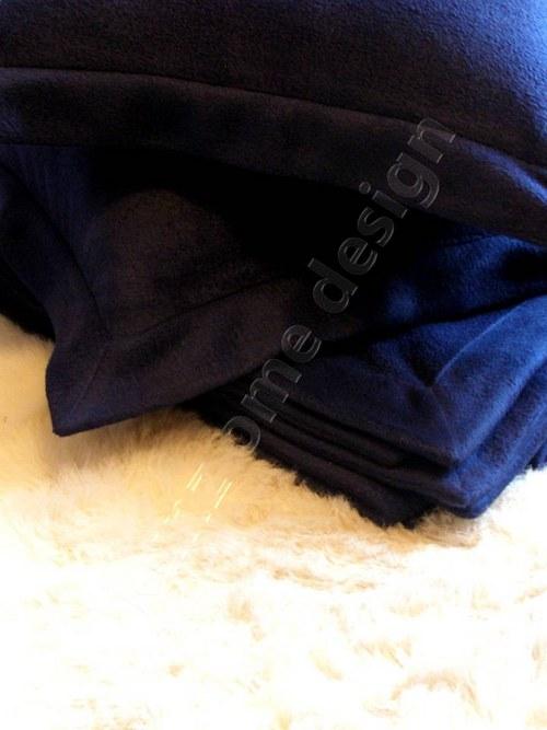 fleece set KAMILA modrá