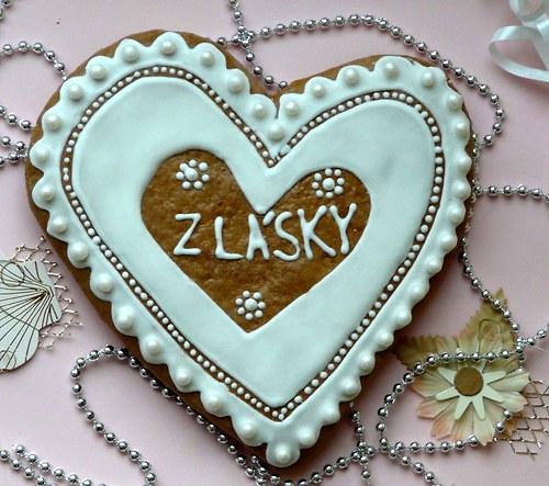 """Velké valentinské srdce \""""Z lásky\"""""""