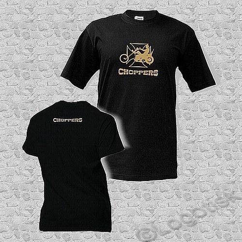 Pánské tričko s potiskem Choppers