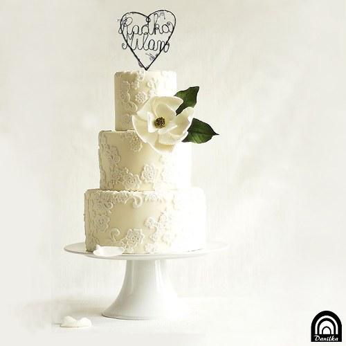 Svatební do dortu