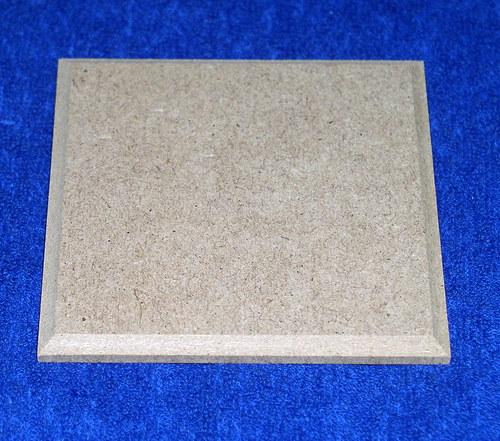 Podložka MDF čtvercová nebo obrázek DL630