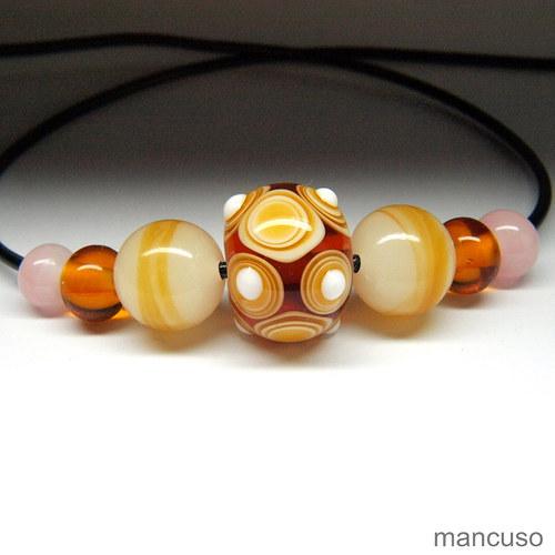 náhrdelník jantarový