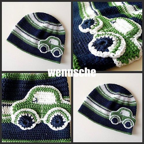 Zeleno- modro-bílá