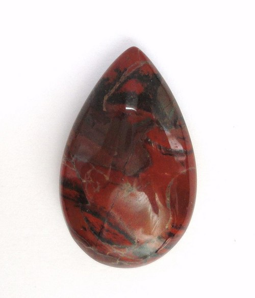Červený jaspis - kabošon