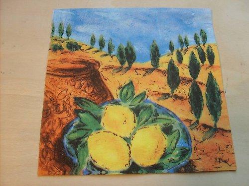 Ubrousek - citróny