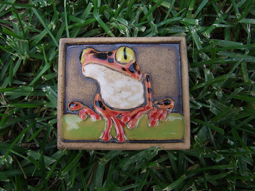 Magnetka keramická- žába