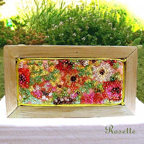 Monetova zahrada - mozaikový obrázek