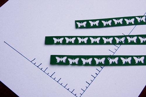 Výseky motýlci