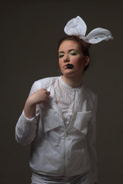 kolekce Albino crocodile - white jacket