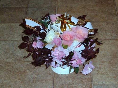 Květinové aranžmá Sladké potěšení