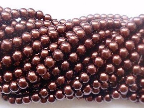 Korálky voskované č. 8 - 12 mm