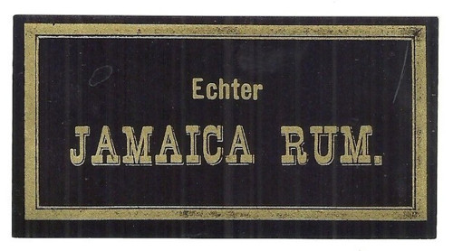 Etiketa Jamajský RUM