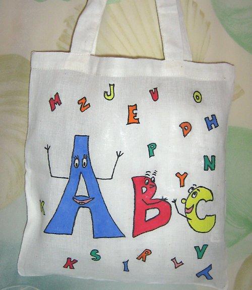 Veselá abeceda (dětská taška)