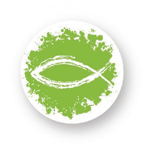 Placka sprej rybka - zelená