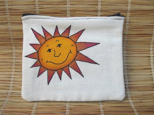 peněženka - kapsička - sluníčko