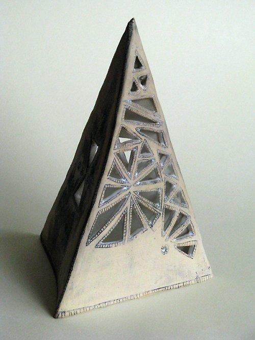 Lampa pyramida