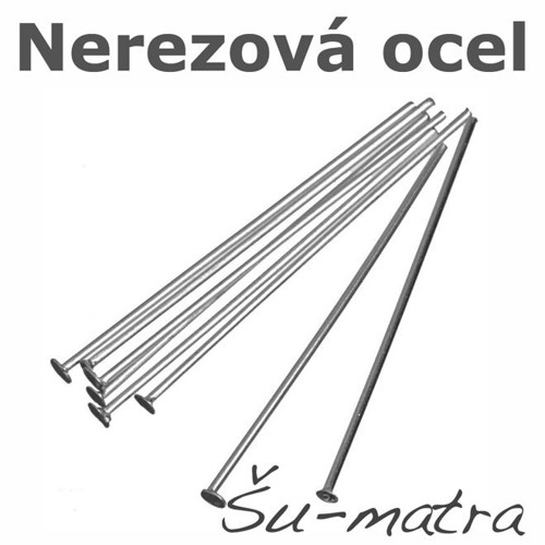Ketlovací nýty z nerezové oceli, 20x0,7 mm (25ks)