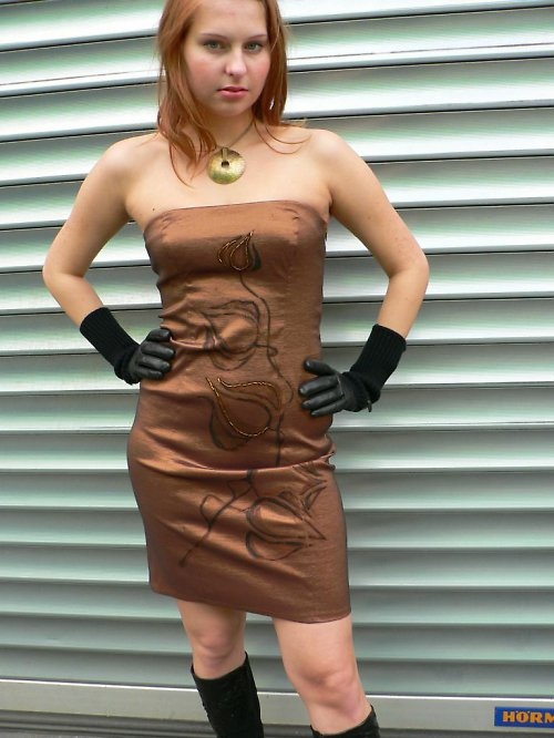 korzetové šaty
