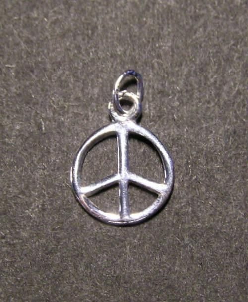Peace symbol - stříbrný přívěsek