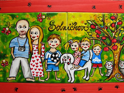 Obrázek na přání- rodina