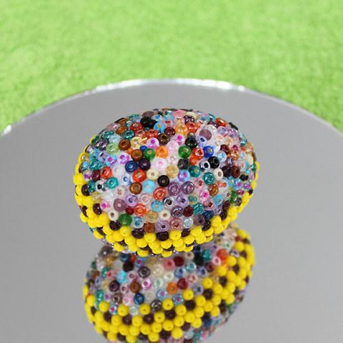 Velikonoční vajíčko od skleněného kohouta 11