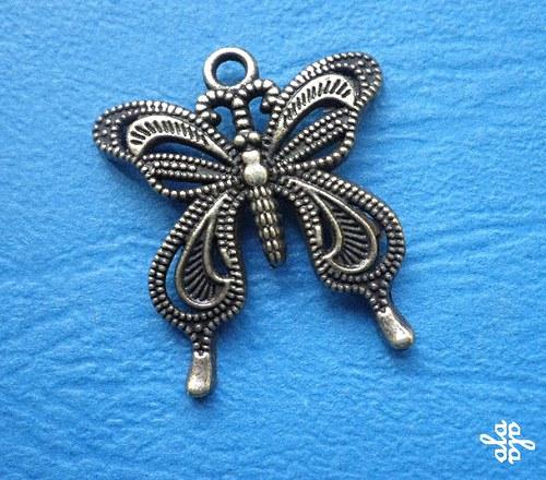 Filigránový motýl - 1ks